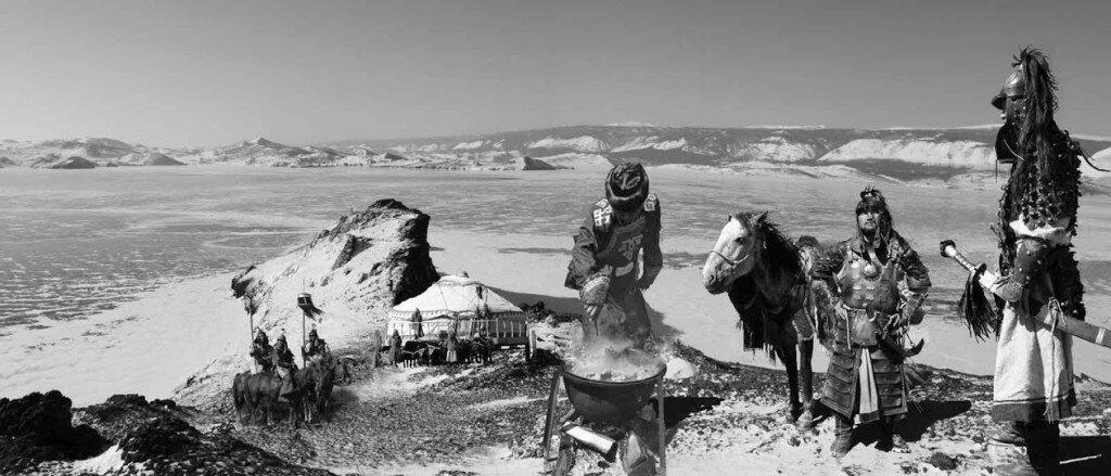 Чингисхан на мысе Кобылья голова