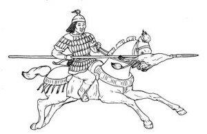 Курыканский воин