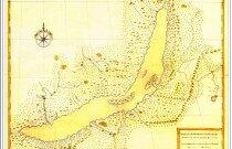 Карта озера Бaйкaл