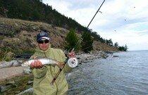 Ташкиней -рай для рыбаков.