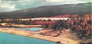 Хужирский пляж 60-е годы. Остовы старых кораблей.