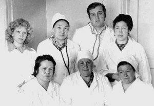 Медперсонал Хужирской больницы